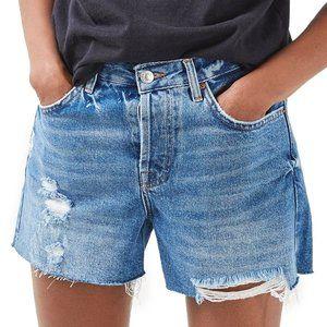Topshop Motto Ashley Denim Shorts (size 4)
